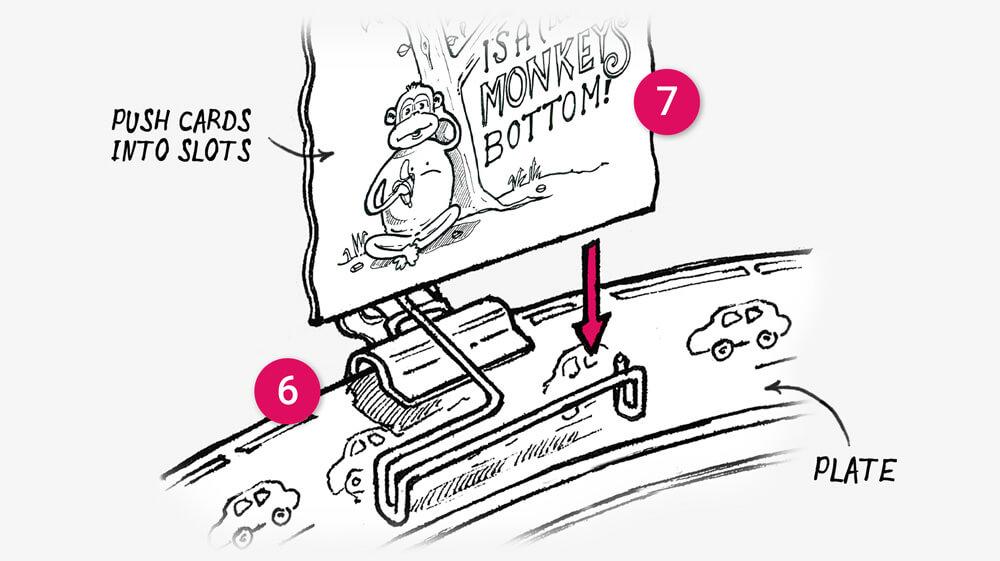 Finish your dinner challenge cards: illustration 3