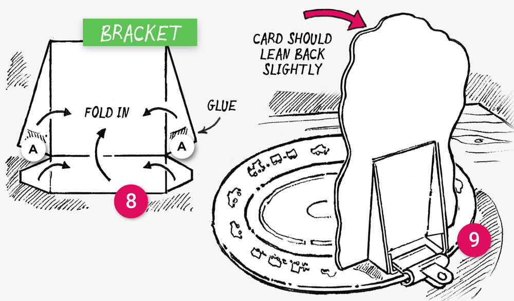 Finish your dinner challenge cards: illustration 4