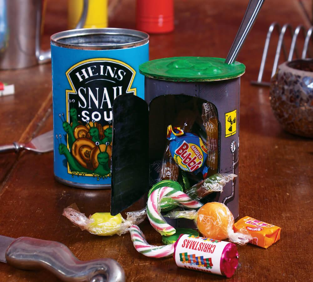 'Snail Soup' decoy: a secret stash treasure box for kids