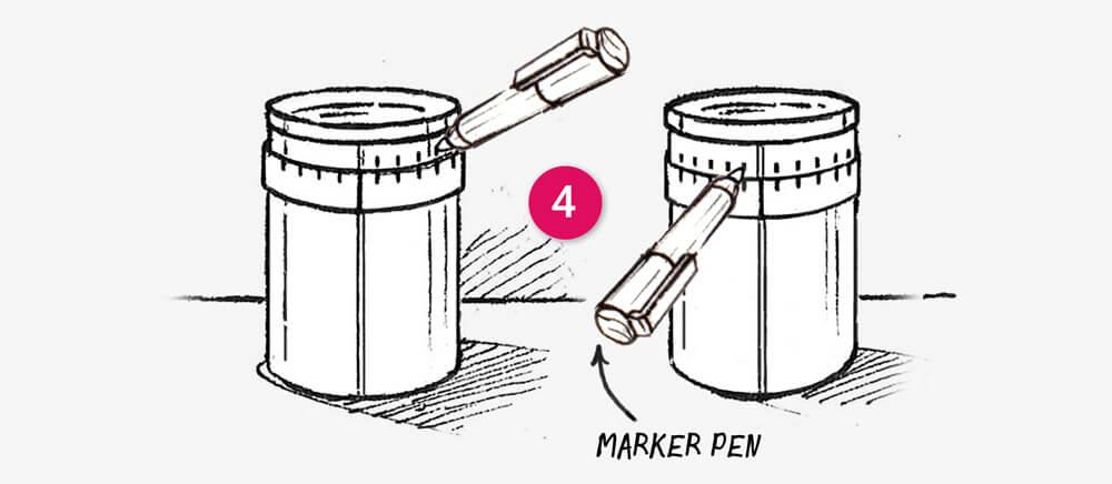 How to make a Tin can tea light holder: illustration 3