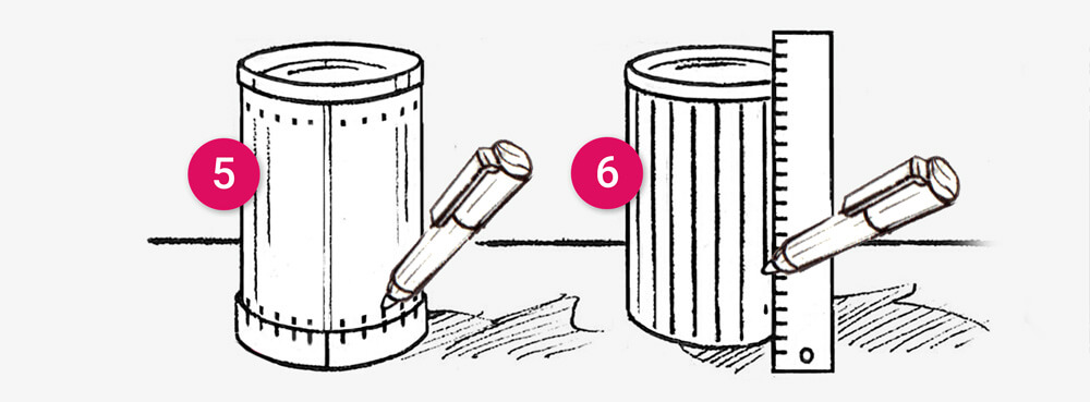 How to make a Tin can tea light holder: illustration 4