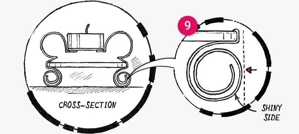 How to make a Tin can tea light holder: illustration 7