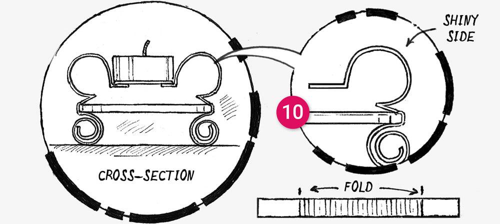 How to make a Tin can tea light holder: illustration 8