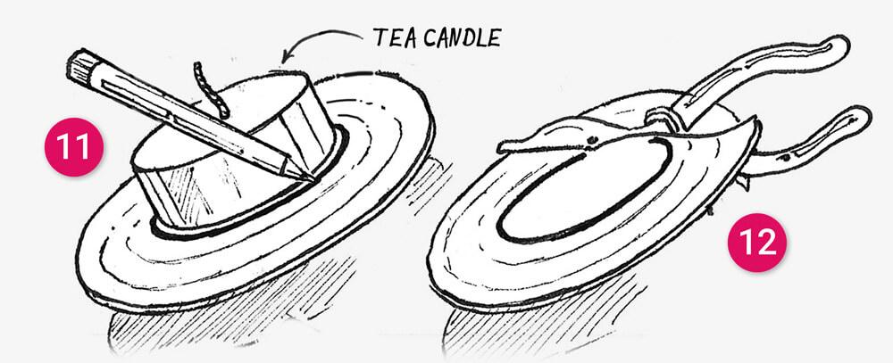 How to make a Tin can tea light holder: illustration 9